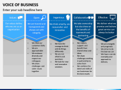 Voice of Business PPT Slide 9
