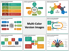Identity and Access Management Multicolor Combined