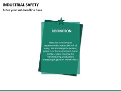 Industrial Safety PPT Slide 14