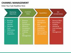 Channel Management PPT slide 26