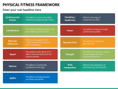 Physical Fitness Framework PPT Slide 26