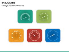 Barometer Icons PPT Slide 20