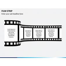Film Strip PPT Slide 1