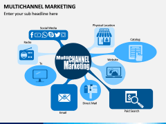 Multichannel Marketing PPT slide 1