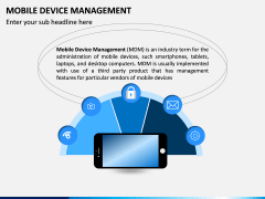 Mobile Device Management (MDM) PPT Slide 1