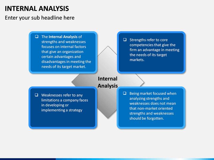 Internal Analysis Powerpoint Template