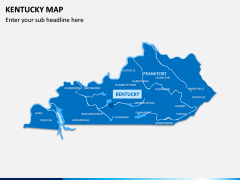 Kentucky Map PPT Slide 2