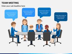Team Meeting PPT Slide 4