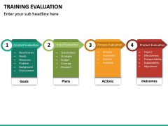 Training Evaluation PPT Slide 30