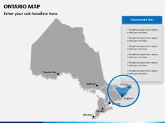 Ontario Map PPT Slide 8