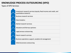 Knowledge Process Outsourcing (KPO) PPT Slide 9