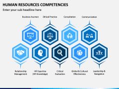 HR Competencies PPT Slide 1