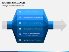 Business Challenges PPT Slide 2