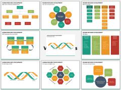 Human resource development PPT slide MC Combined