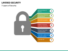Layered Security PPT slide 16