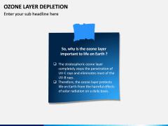 Ozone Layer Depletion PPT Slide 14