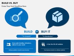 Build vs buy PPT slide 3