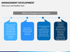 Management Development PPT slide 11