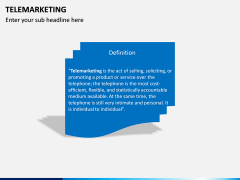 Tele Marketing PPT slide 2