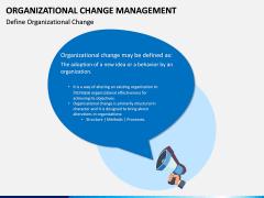 Organizational Change Management PPT Slide 1