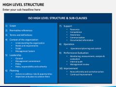 High Level Structure PPT Slide 3