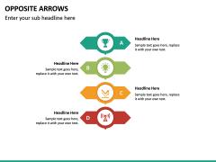 Opposite Arrows PPT Slide 20