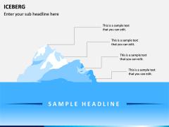 Iceberg PPT slide 2