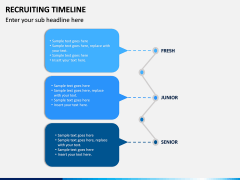 Recruiting Timeline PPT Slide 11