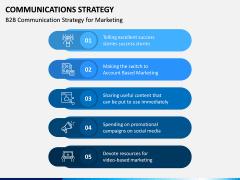 Communications Strategy PPT slide 12