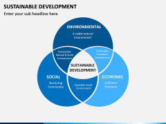 Sustainable Development PPT Slide 12