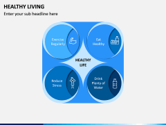 Healthy Living PPT Slide 5