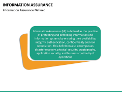 Information Assurance PPT slide 13