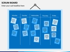SCRUM Board PPT Slide 2