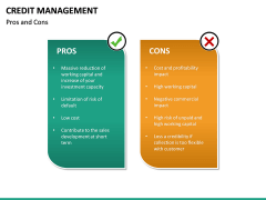 Credit Management PPT slide 33