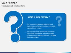 Data Privacy PPT Slide 1