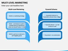Multi Level Marketing (MLM) PPT Slide 3