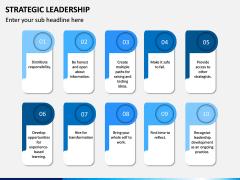 Strategic Leadership PPT Slide 12