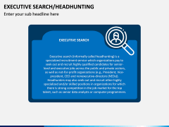Executive Search (Headhunting) PPT Slide 1