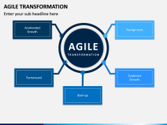 Agile Transformation PPT Slide 1