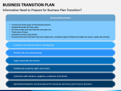 Business Transition Plan PPT Slide 13