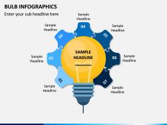 Bulb Infographics PPT Slide 13
