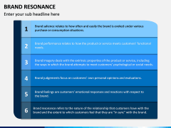 Brand Resonance PPT Slide 9