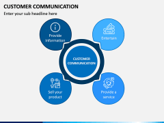 Customer Communication PPT Slide 1