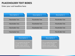 Placeholder text PPT slide 13