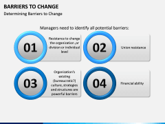 Barriers to Change PPT slide 1