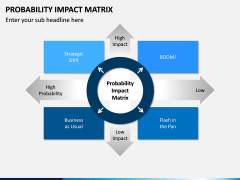 Probability Impact Matrix PPT Slide 1
