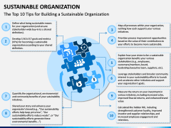 Sustainable Organization PPT Slide 3