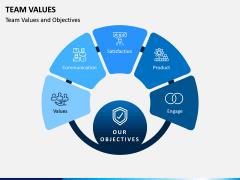 Team Values PPT Slide 1