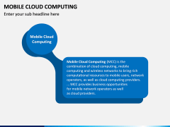 Mobile Cloud Computing PPT Slide 1