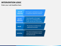 Intervention Logic PPT Slide 10